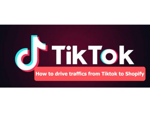 How to drive Tiktok traffics to Shopify store