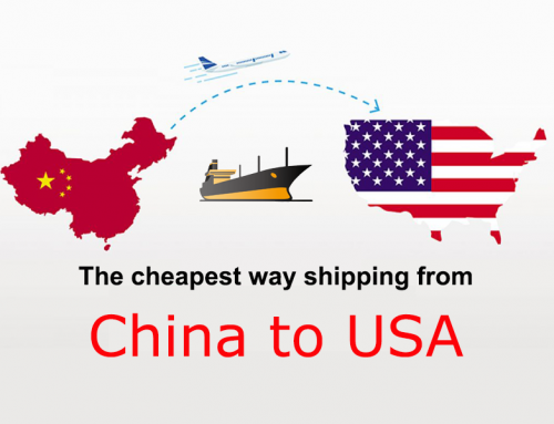 The cheapest way shipping from China to USA